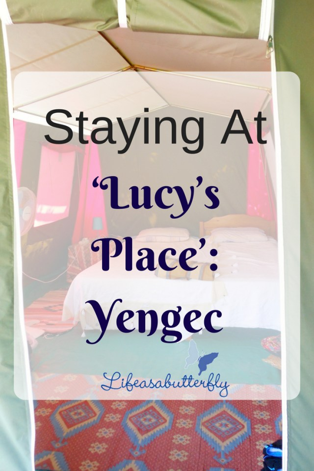 Staying at 'Lucy's place': Yengec