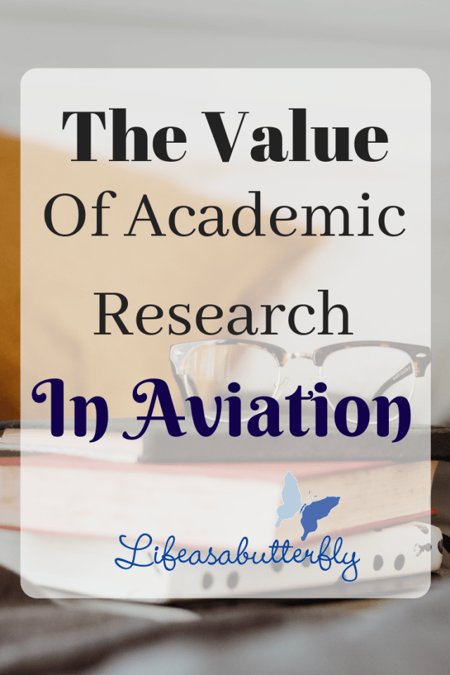 The value of academic research in aviation