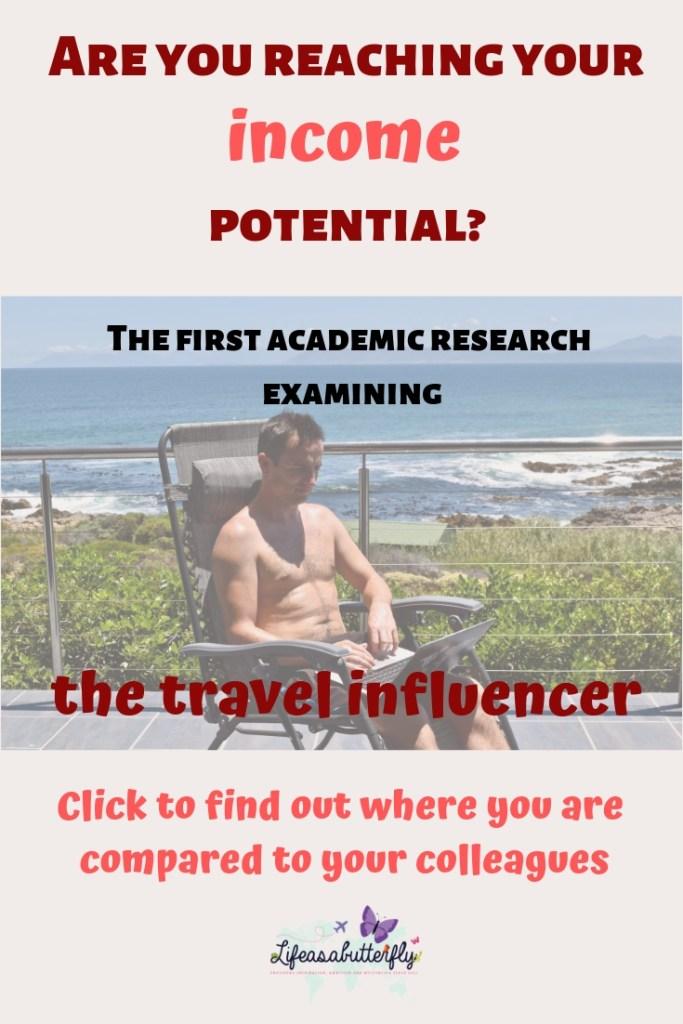 travel influencer income