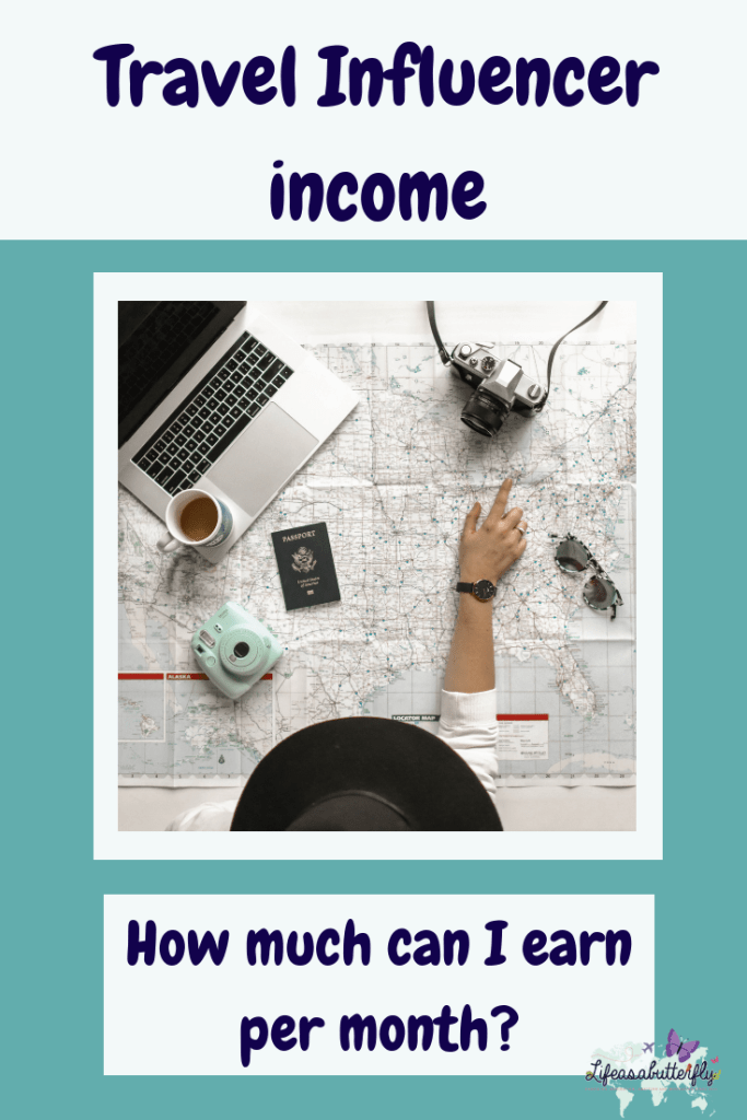 Travel Influencer income