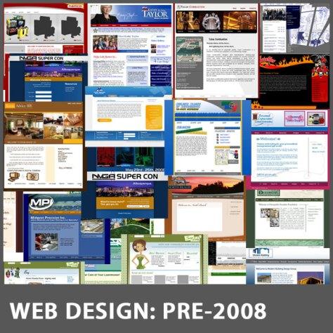 Web Work - pre - 2008
