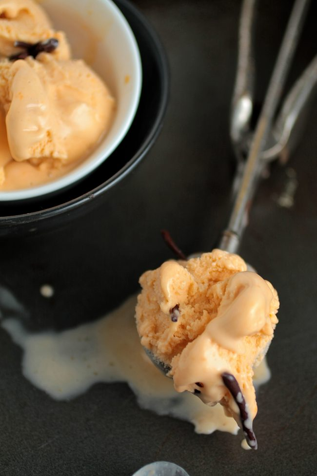 Butterscotch Ice Cream | Homemade butterscotch ice cream is sweet and rich - the perfect twist for your regular homemade ice cream routine!