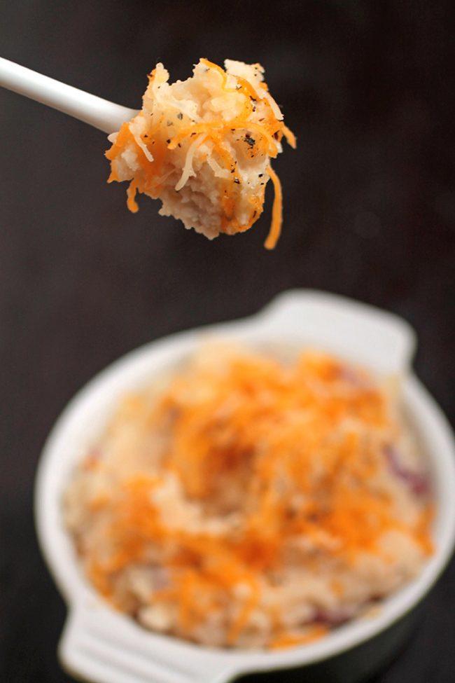Cheddar Greek Yogurt Mashed Potatoes   Life As A Strawberry