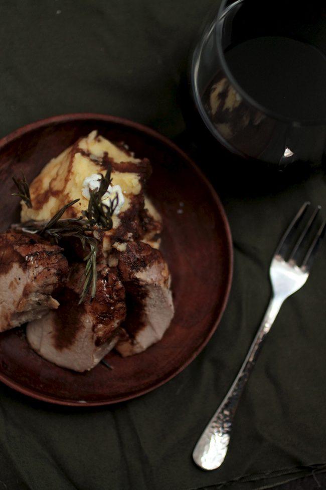 Orange & Rosemary Roast Pork Tenderloin