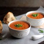 Vegan Roasted Red Pepper Soup