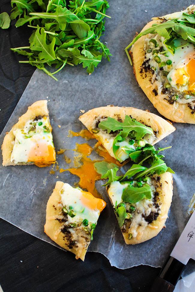 Breakfast pizza ideas