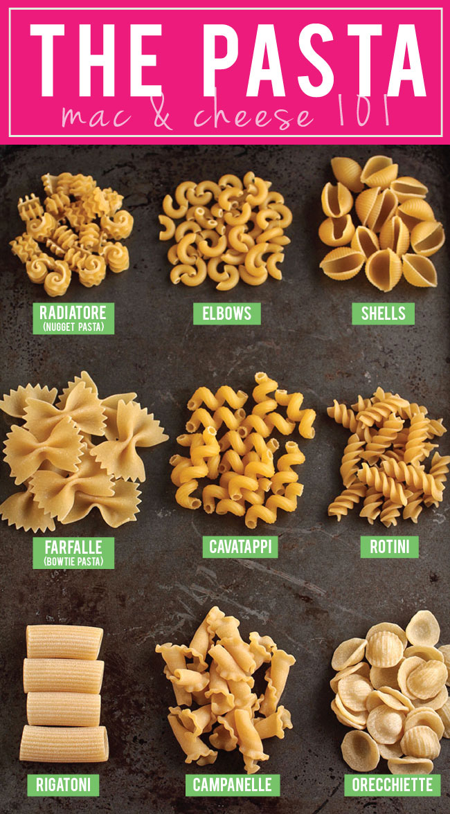 Mac and Cheese 101 | Everything you need to know to make perfect mac and cheese every time! Literally EVERYTHING you need to know about macaroni and cheese is in this article - from choosing a pasta shape to finding the perfect cheese to mastering the creamy cheese sauce and more. Get the exact steps you need to make perfect mac and cheese every single time!