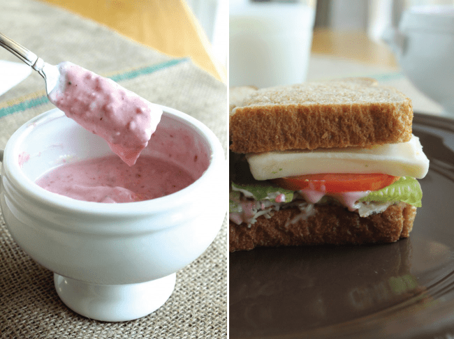 Cranberry Mayonnaise