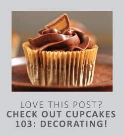 Love this post? Check out cupcakes 103: decorating!