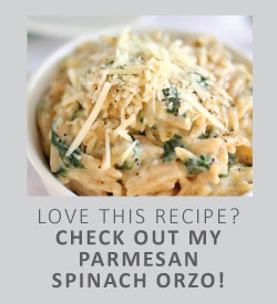 parmesan-spinach-orzo