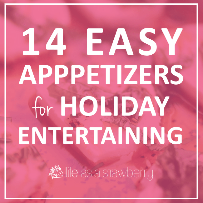 14 Easy Appetizers Perfect for Holiday Entertaining - This holiday appetizer roundup is full of quick and easy recipes that are sure to make you a hit at your holiday gatherings!