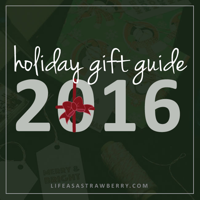 2016 Holiday Gift Guide for Foodies | Life As A Strawberry