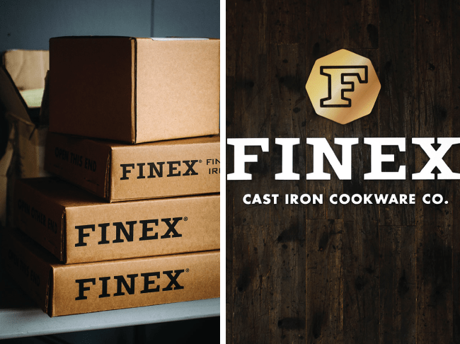 at the table // Finex cast iron cookware - Get a behind-the-scenes look at the production of Finex cast iron cookware in Portland, Oregon.