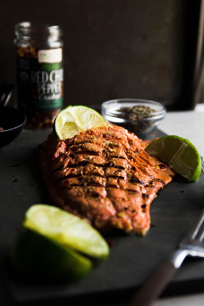 Easy salmon marinade for grilling