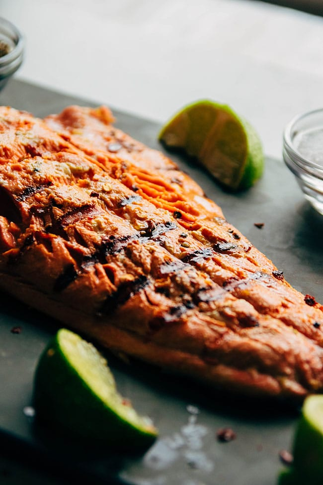 Lime Grilled Salmon Recipe