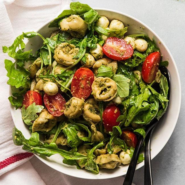 10 Ingredient Tortellini Pasta Salad