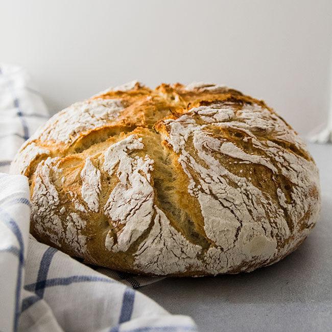 Roasted Garlic and Rosemary Bread Recipe.