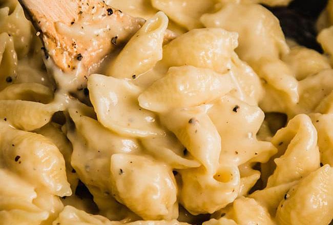 Cauliflower mac and cheese recipe.