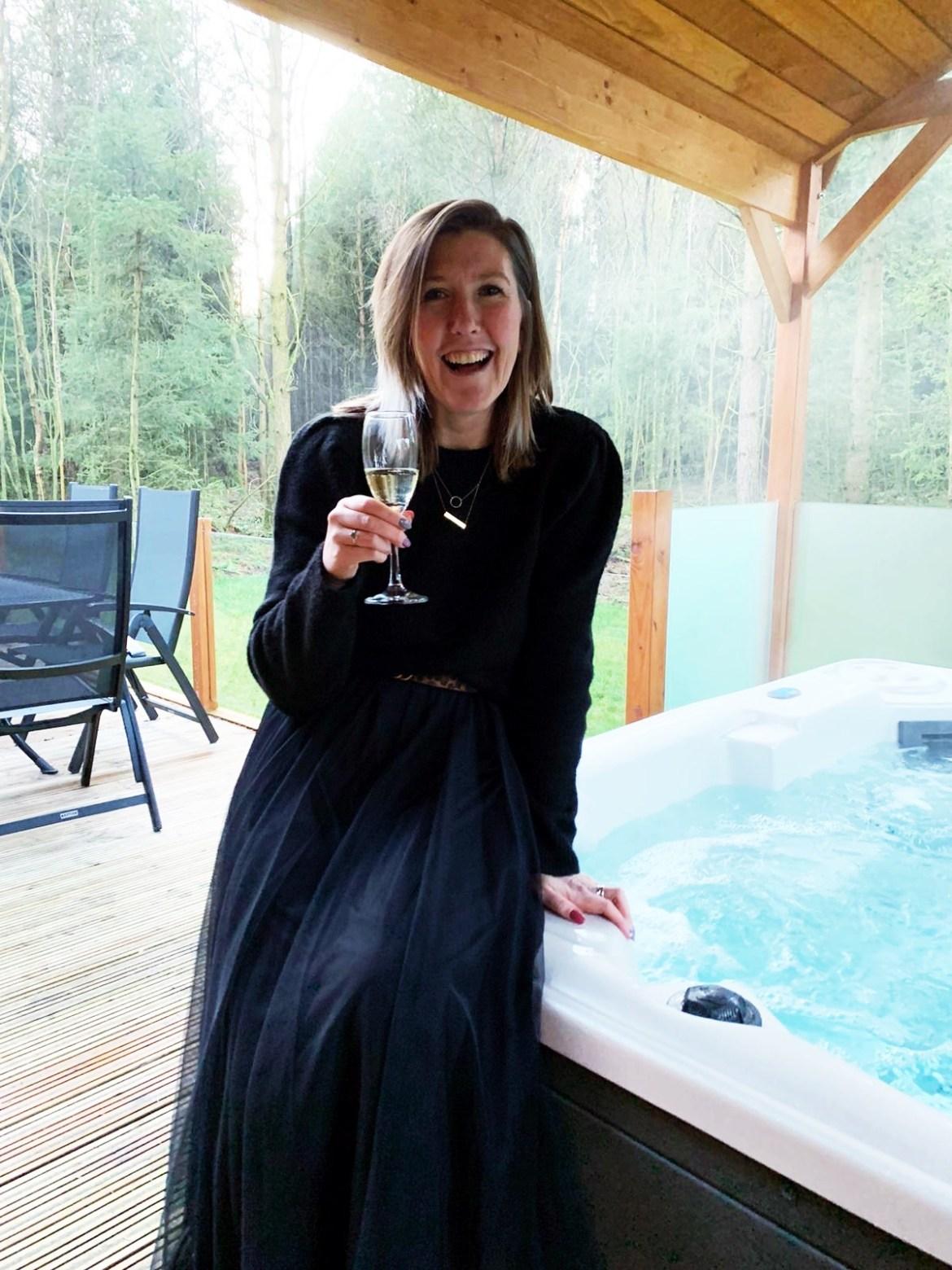 Celebrating my 40th Birthday at Darwin Forest Luxury Lodges