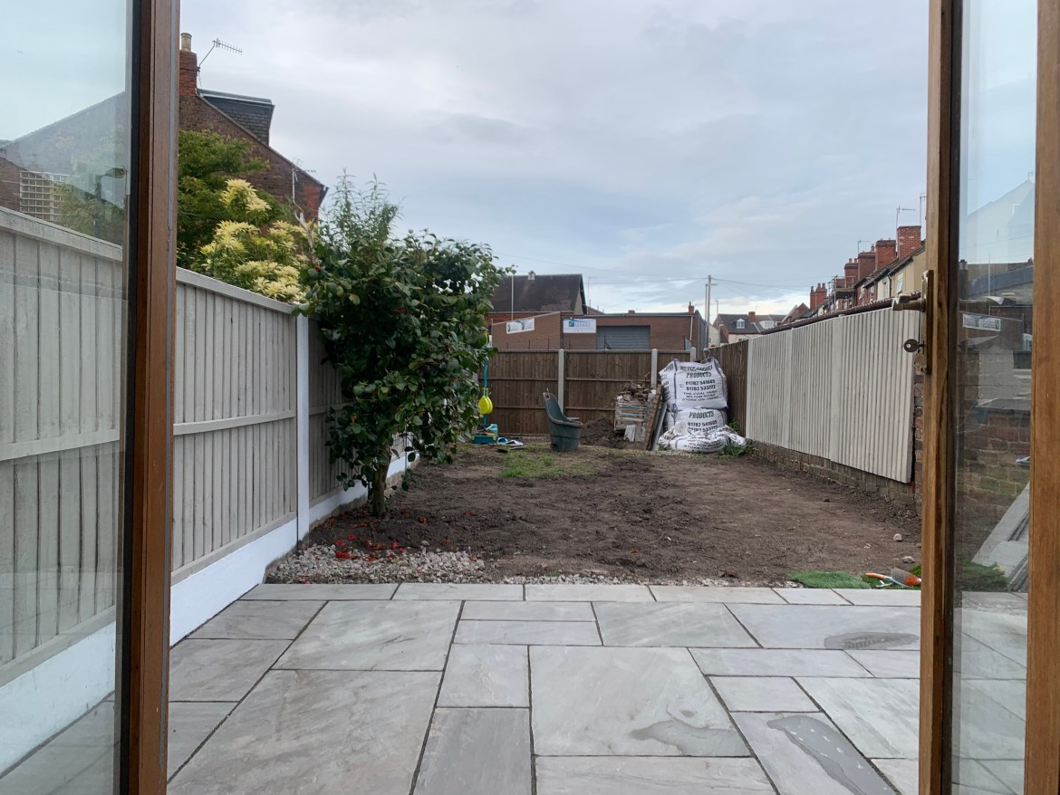 Our Garden Renovation