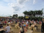 Food court by the main stage