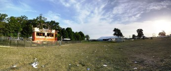 Kalliope stage in the morning