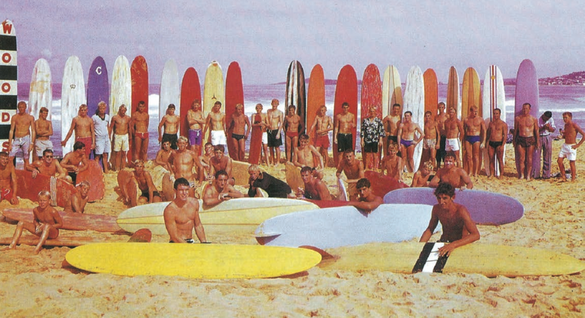 surfing in the sixties