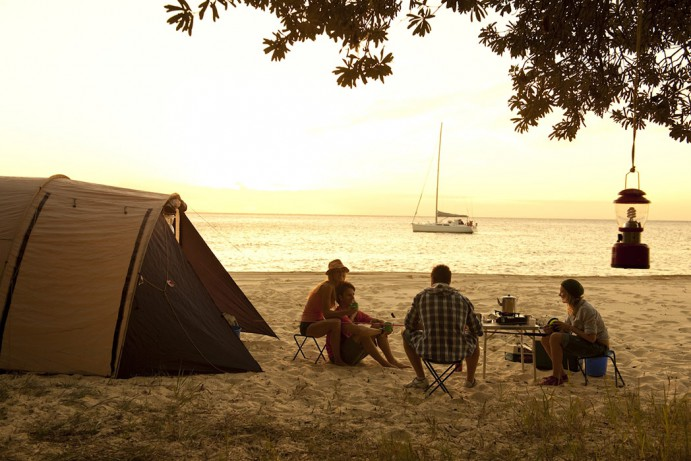 14 of the best beach camping spots in Queensland