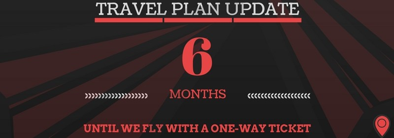 Travel Plans: 6 months to go