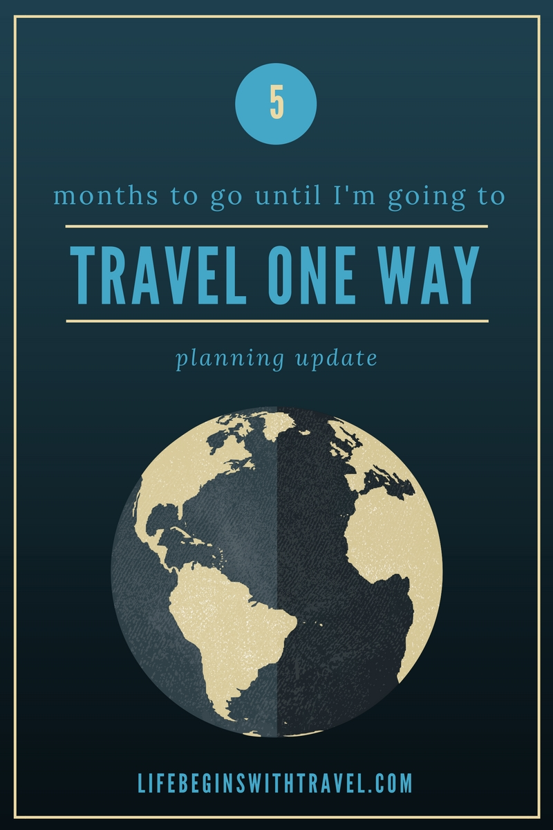 Travel Plans: 5 months to go update Pinterest