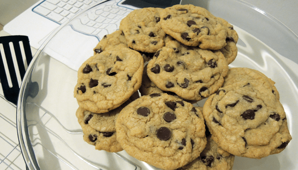 The secret ingredient for chewy chocolate chip cookies