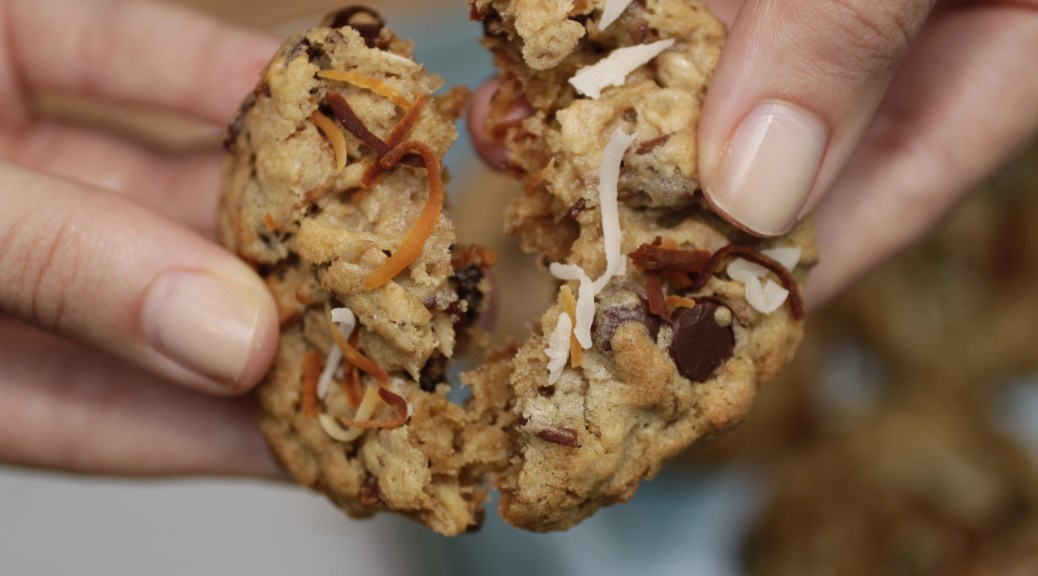 Best Toasted Coconut Oatmeal Chocolate Chip Cookie Recipe