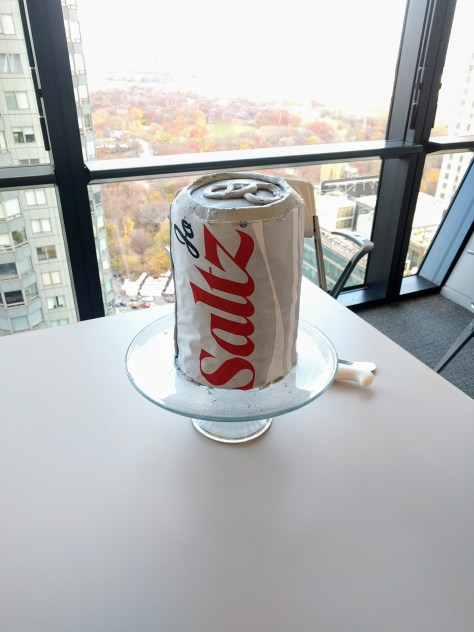How to make a Diet Coke can cake