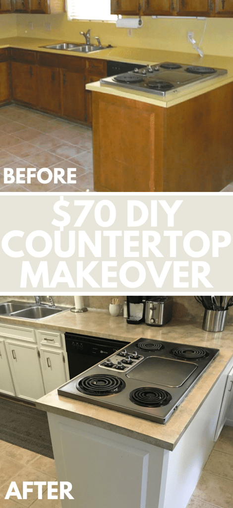 Our $450 kitchen makeover! We made a big difference with a little budget!