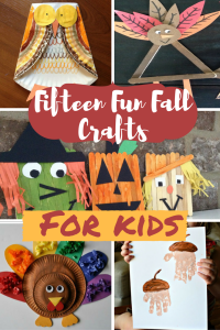15 Fun Fall Crafts- FOR KIDS!