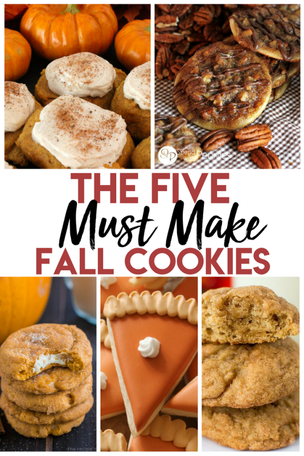 Five MUST MAKE Cookies for this Fall