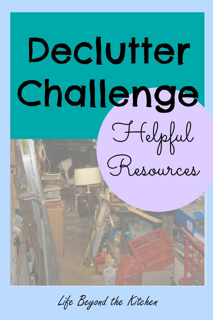 Declutter Resources ~ Websites ~ Useful Books and Websites ~ Life Beyond the Kitchen
