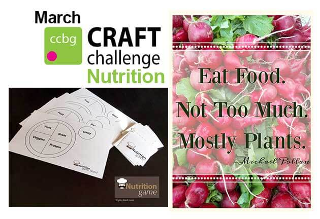 #CCBG Nutrition Challenge ~ Life Beyond the Kitchen