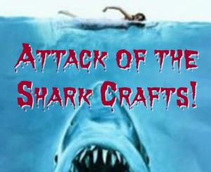 Attack of the Shark Crafts {Movie Monday}