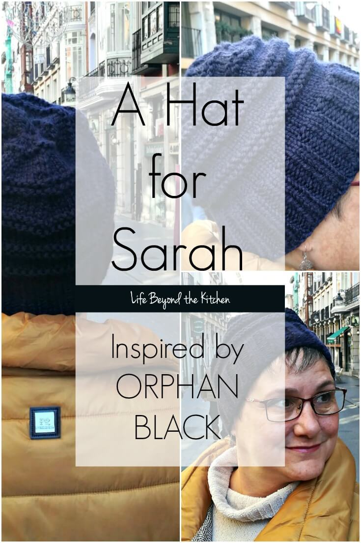 A New Hat For Sarah Manning ~ #CraftyDestashChallenge ~ Life Beyond the Kitchen