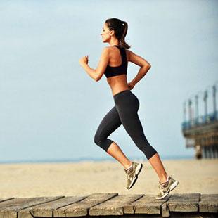 Bieganie na początku