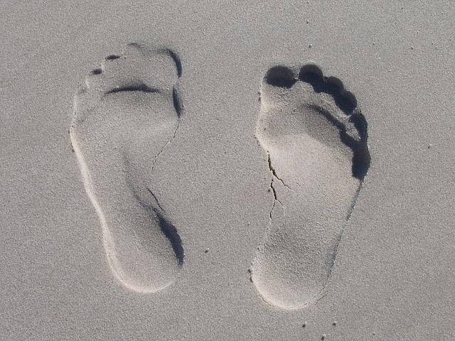 Modzele na stopach