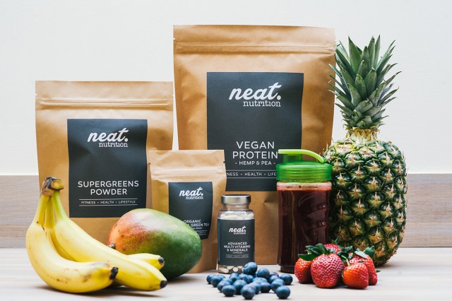 neat vegan protein products