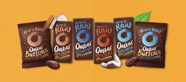 Ombar cacao healthy vegan snack