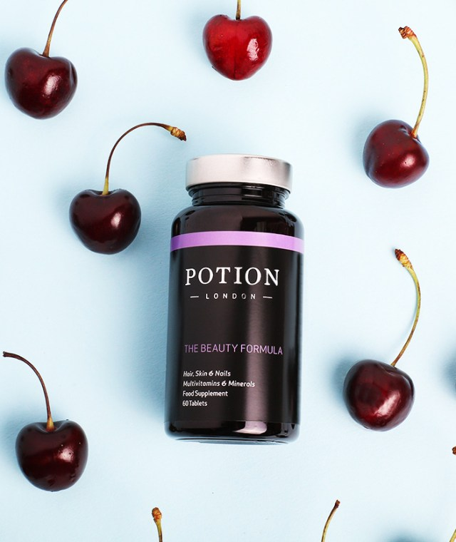Potion London Beauty Formula with cherries
