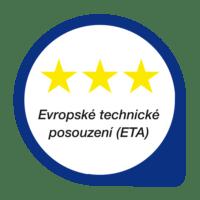 ETA - Evropské technické posouzení