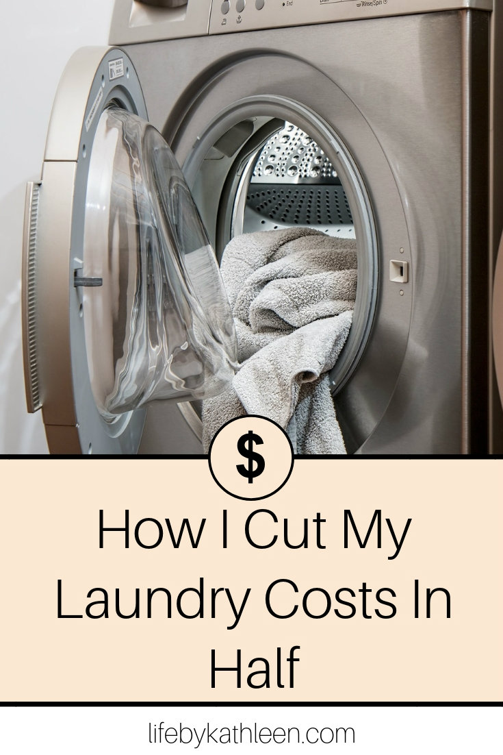 How I Cut My Laundry Costs In Half