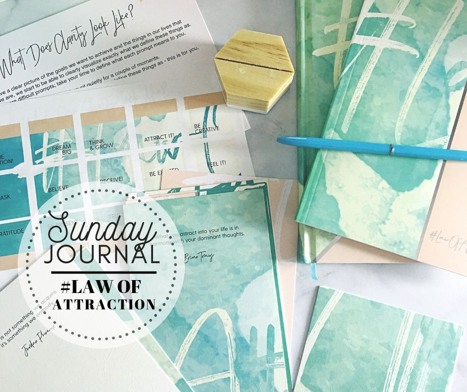 SUNDAY JOURNAL: The Law of Attraction Box, Clarity