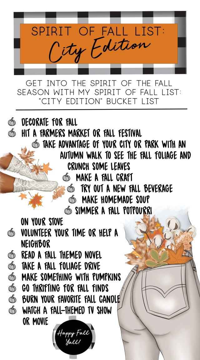 Spirit of Fall List City Edition