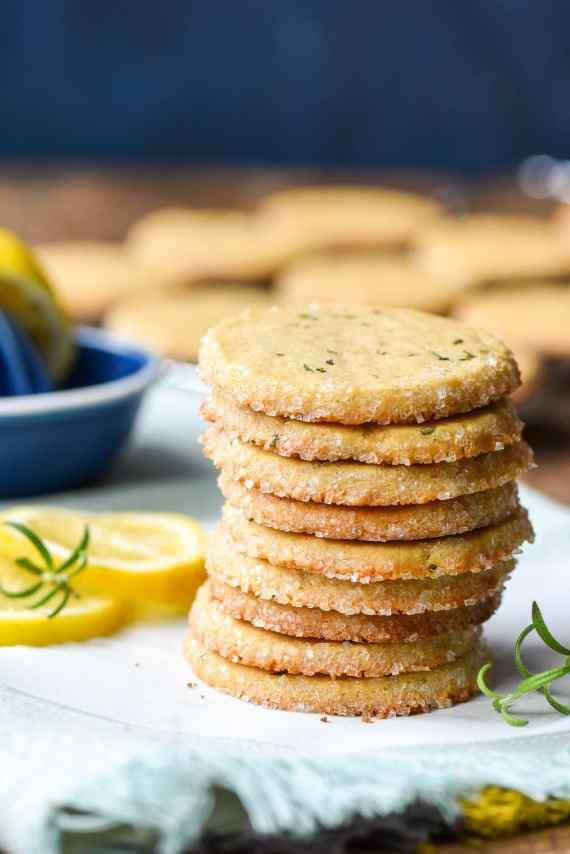 lemon-rosemary-butter-cookies